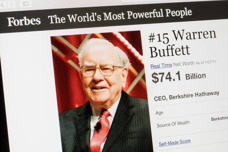 the Warren Buffett way a guide to value investing - February 24, 2017: Forbes magazine list of the worlds most powerful people.number 15 warren buffet the ceo of berkshire hathaway.