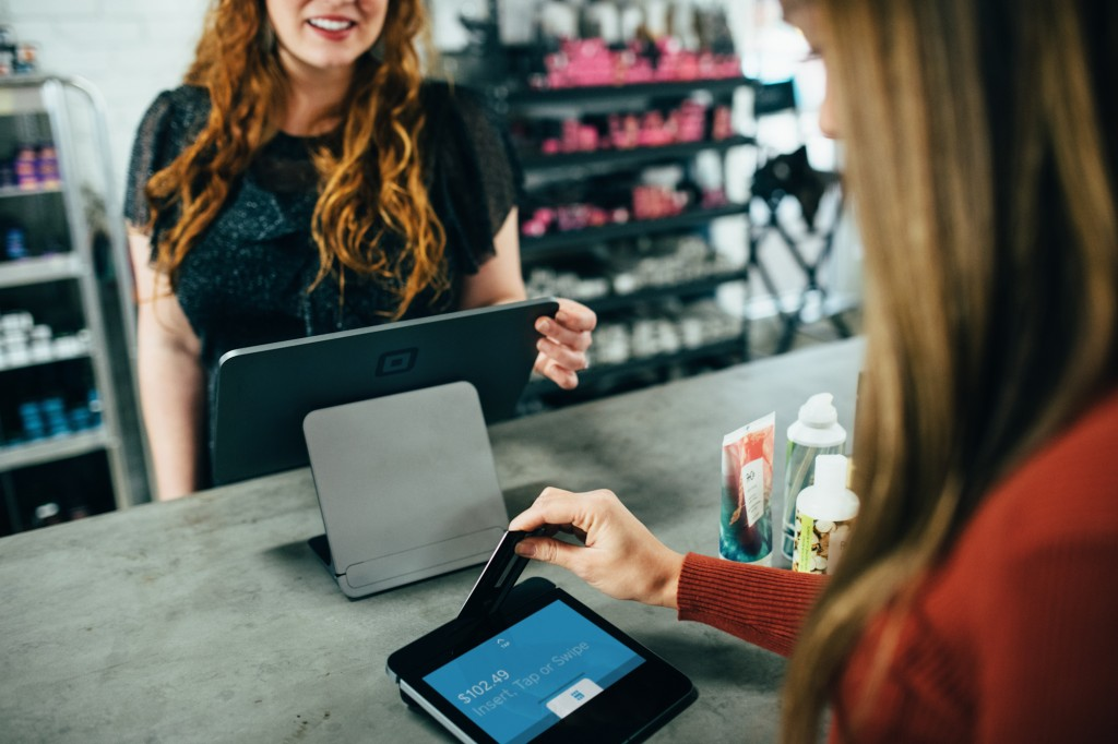 How to protect the goodwill in your business - customer paying for purchase by EFTPOS