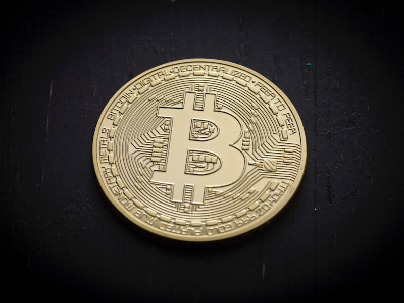Should you use Bitcoin as payment method? Photo of concept Bitcoin