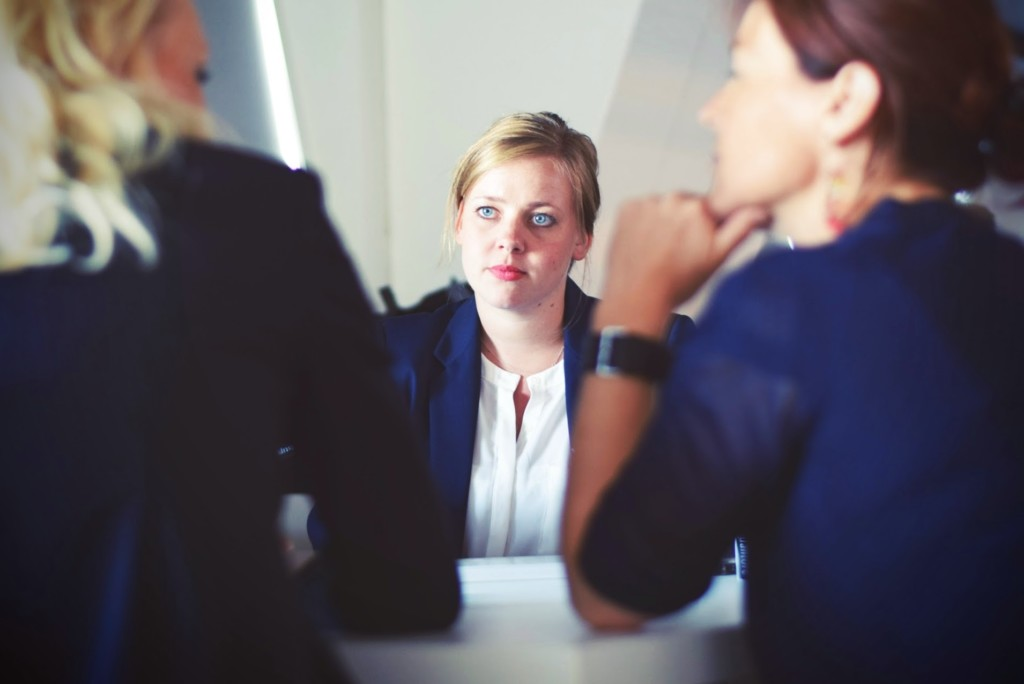 What to do if you have a partnership breakup - three women having a discussion